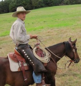Dr. Steve Peters, author of Evidence-Based Horsemanship