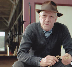Chris Cooper played trainer Tom Smith in the movie adaptation