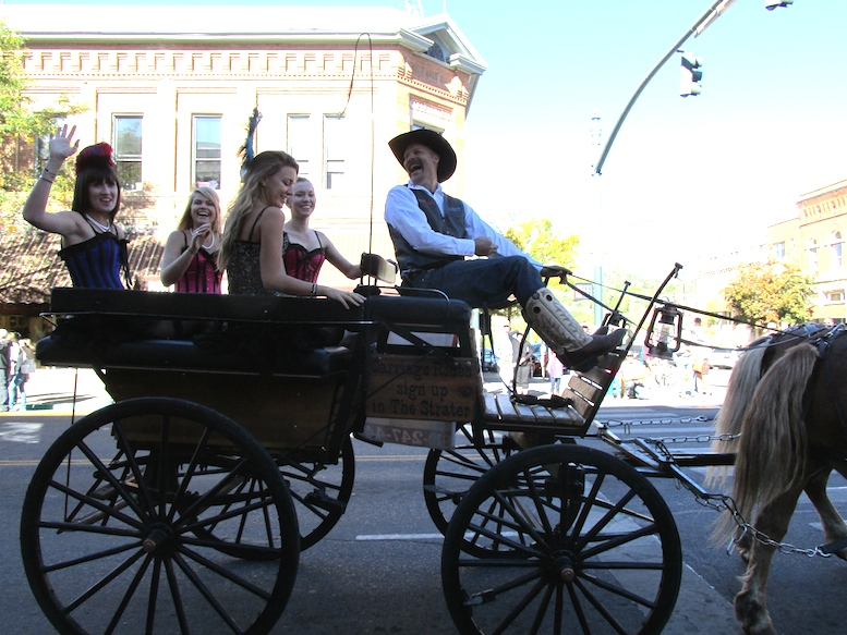 At the Durango Cowboy Poetry Parade